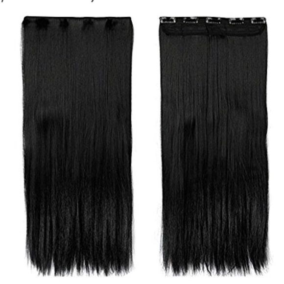 Other One Piece Clip In Hair Extensions 30 Inch Poshmark